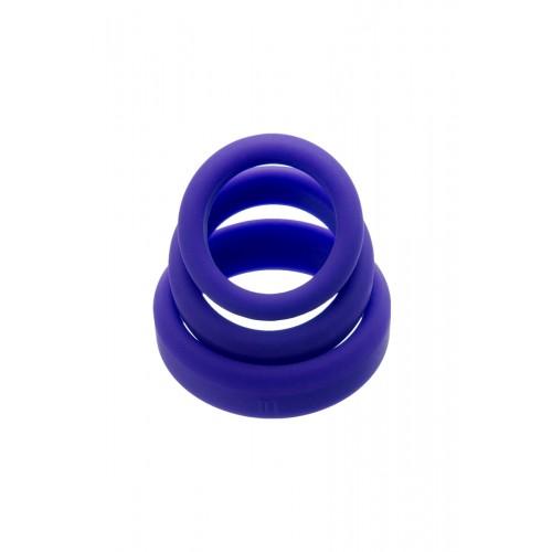 Комплект 3 бр. силиконови пенис пръстени A-Toys [2]