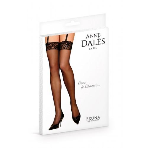 Елегантни чорапи за жартиери с дантелен кант Anne D'Ales Bruna [1]