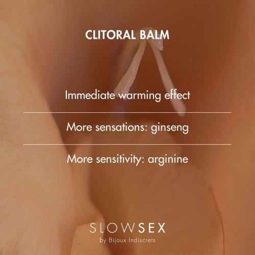 Клиторен оргазмичен балсам за жени Slow Sex 10 ml [3]