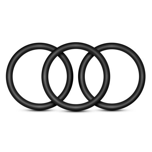 3 бр. пенис пръстени от силикон Performance VS1