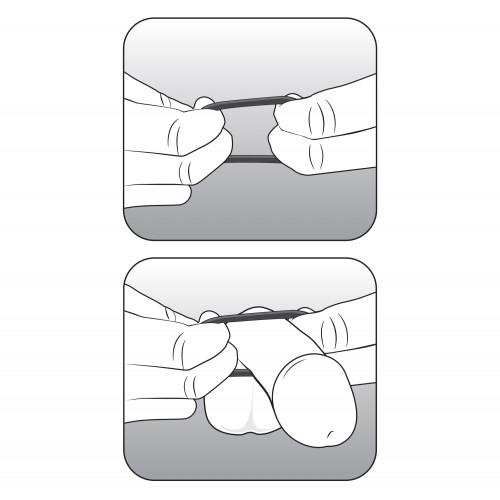 3 бр. пенис пръстени от силикон Performance VS1 [4]