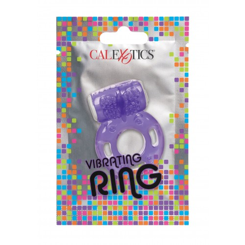 Вибриращ пенис пръстен Calexotics лилав [2]