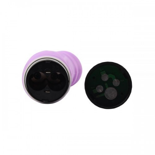 Реалистичен вибратор от силикон M-Mello лилав [4]