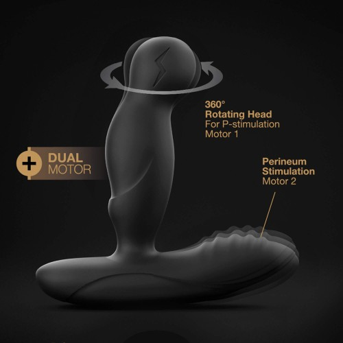 Простатен масажор с въртеливо движение и дистанционно Dorcel P-Swing [5]