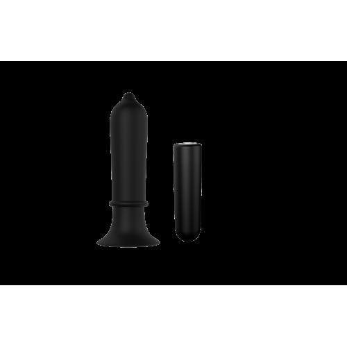 Презаредим вибриращ анален стимулатор от силикон Torpedo Plug [1]