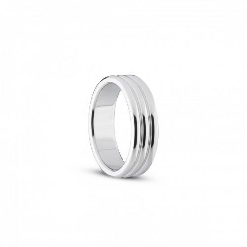 Оребрен метален пръстен Sinner Gear