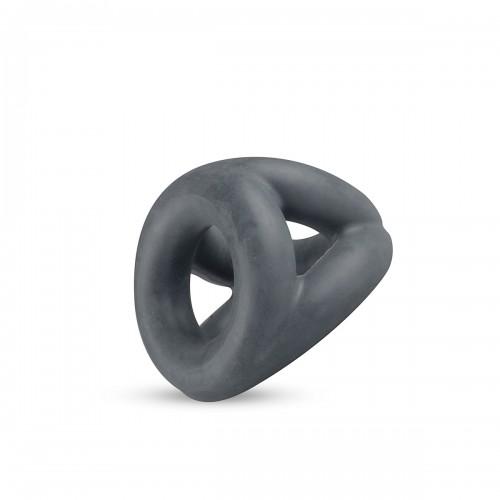 Луксозен троен пенис пръстен от течен силикон Boners Slings [1]