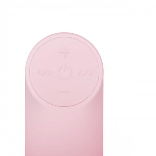 Мощно безжично презаредимо яйце от силикон Luv Egg розово [6]
