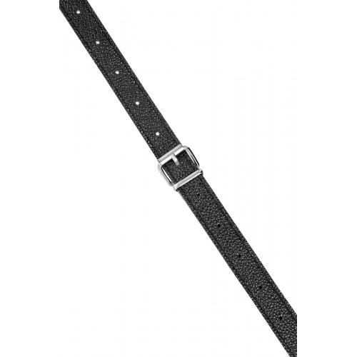 Вибриращ двоен пенис колан от силикон Dual Dildo телесен [3]
