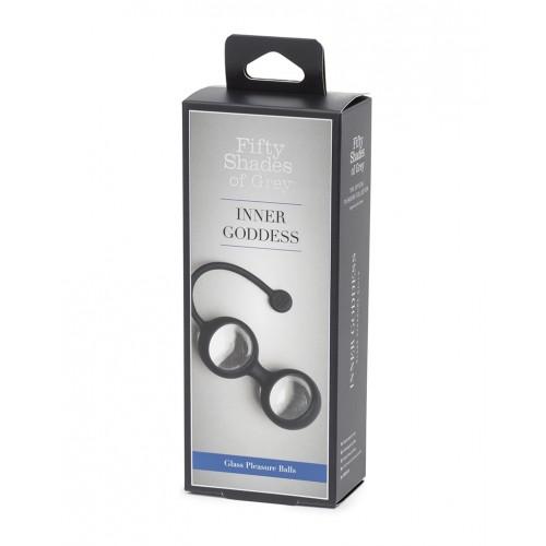 Вагинални топчета от силикон и стъкло Inner Goddess от 50 Shades Of Grey [6]