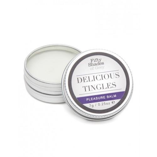 Комплект булет вибратор и възбуждащ балсам Delicious Tingles от 50 Shades Of Grey [2]
