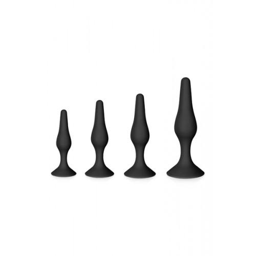 Комплект анални разширители от 100% силикон Glamy Soft Plug [1]