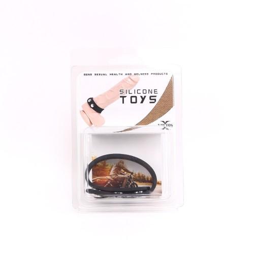 Регулируем пенис пристегач от силикон SB Button CRING [2]