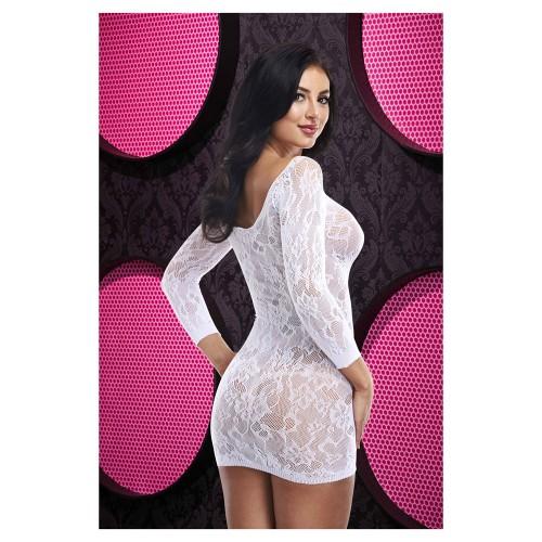 Нежна рокля Lapdance бяла  [1]