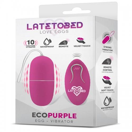 Безжично вибро яйце Ecopurple [3]