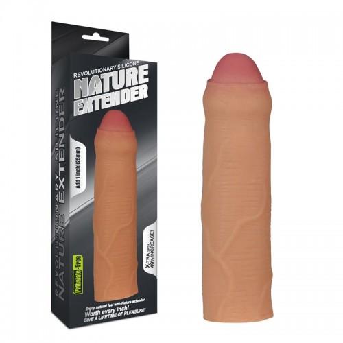 Реалистичен пенис удължител от силикон Nature Extender [4]
