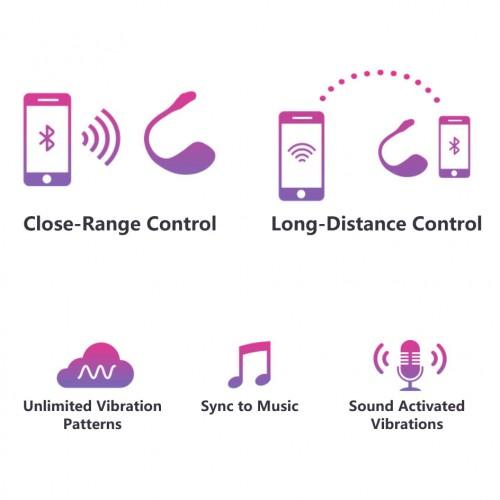 Презаредим Bluetooth вибратор Lush 2 розов [8]