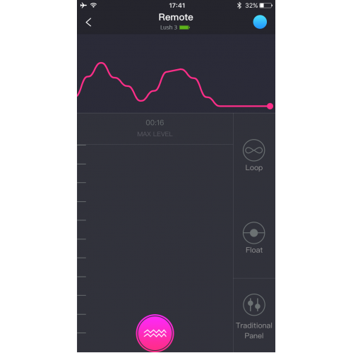 Lush 3 презаредим Bluetooth вибратор розов [12]