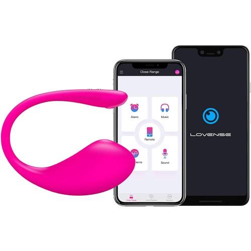 Lush 3 презаредим Bluetooth вибратор розов