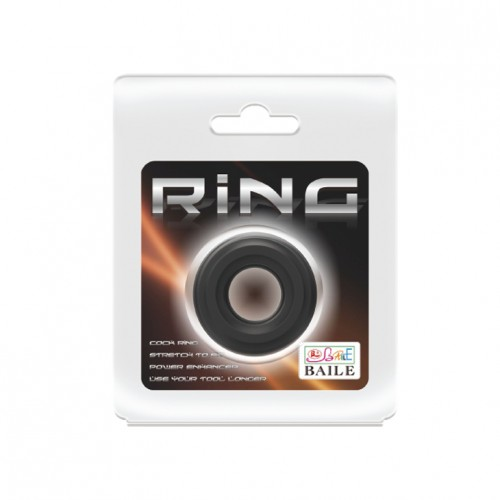 Удебелен пенис пръстен Ring от 100% мед. силикон [5]