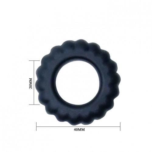 Силиконов пенис пръстен Titan [3]