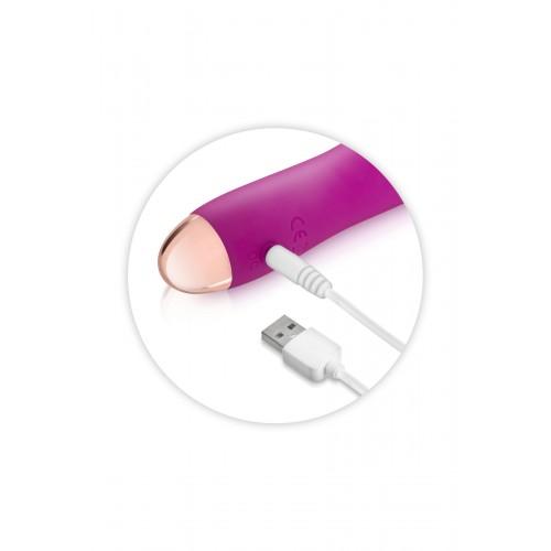 Презаредим вибратор от медицински силикон My First Chupa розов [1]