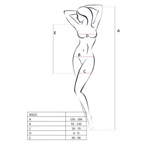 Еротична мини рокля  Passion бяла [1]