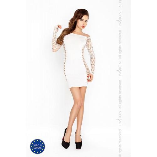 Еротична мини рокля  Passion бяла