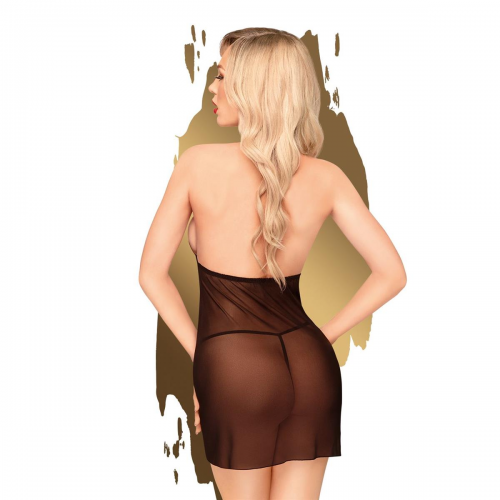 Еротичен комплект рокля и прашки Penthouse Bedtime Story черно размер S/M [1]