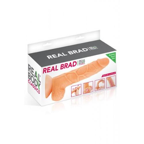 Реалистично дилдо от кибер кожа Real Brad [3]