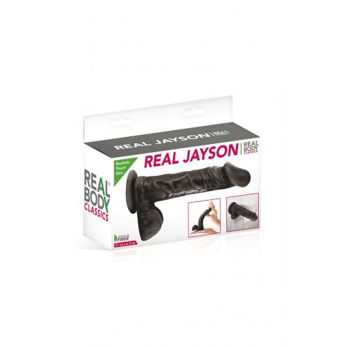 Реалистично дилдо Real Jayson черно [3]
