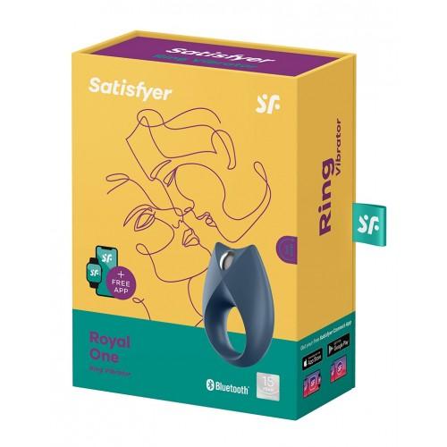 Презаредим вибриращ пенис пръстен Satisfyer Royal One с App [6]