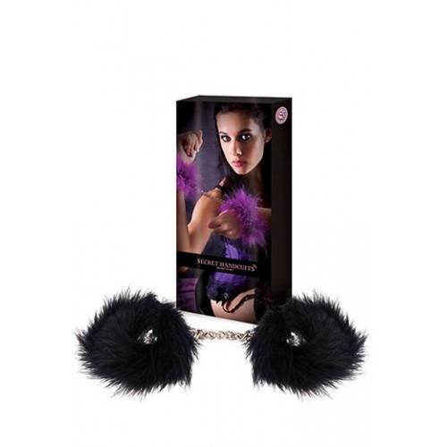Еротични белезници с пера Secret Play [1]