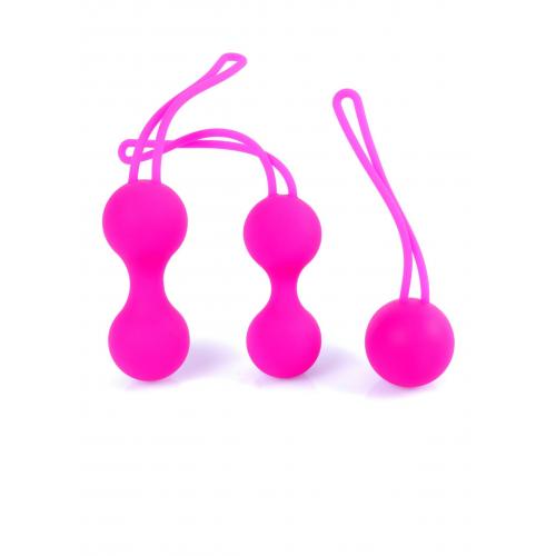 Комплект вагинални топчета от силикон с тежести Bolas Set