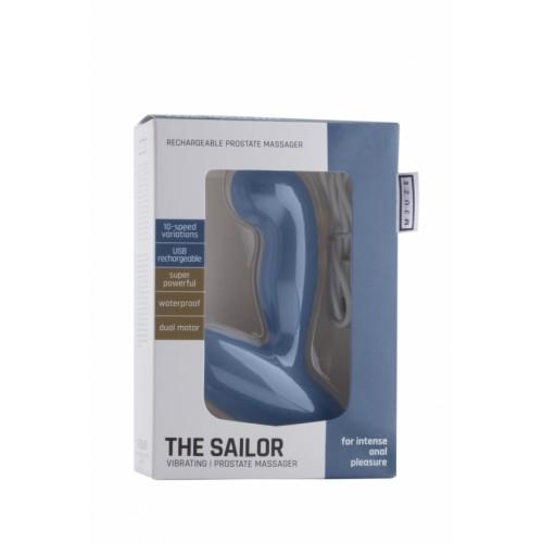 Мощен вибриращ простатен стимулатор от силикон The Sailor [3]