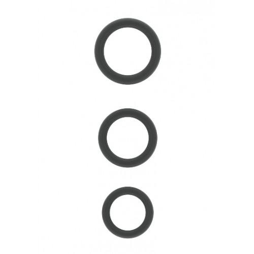 Комплект от 3 бр. пенис пръстени от силикон Sono [1]