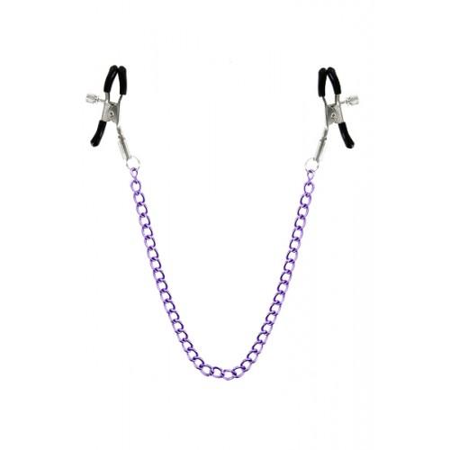 Щипки за зърна с вериги Stimulating Nipple Chain