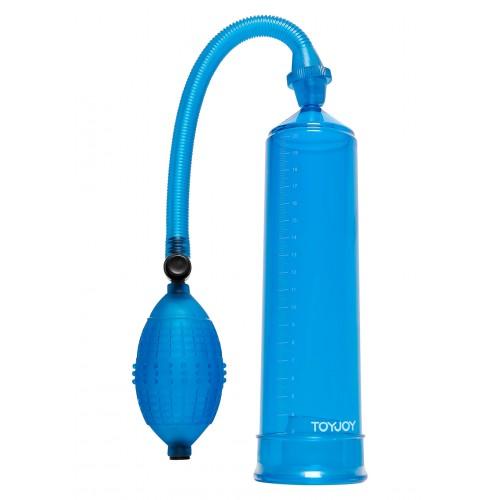 Пенис помпа Power Pump синя
