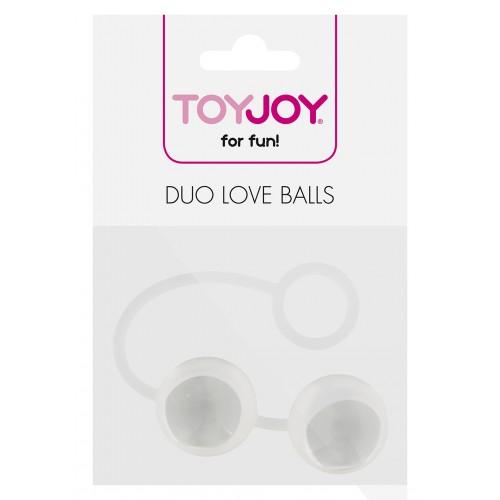 Вагинални топчета от силикон и стъкло Duo Balls [3]