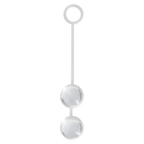Вагинални топчета от силикон и стъкло Duo Balls