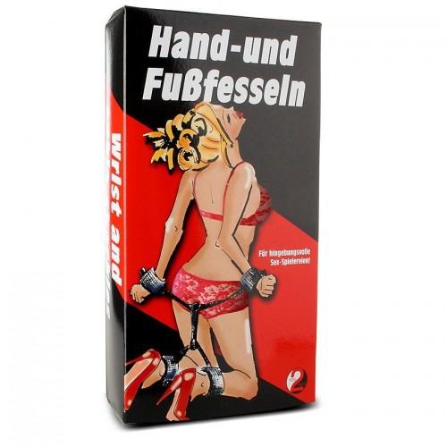 Свързани ограничители за ръце и крака You2Toys [3]