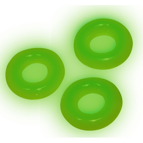 3 бр. светещи пенис пръстени Love Rings [2]