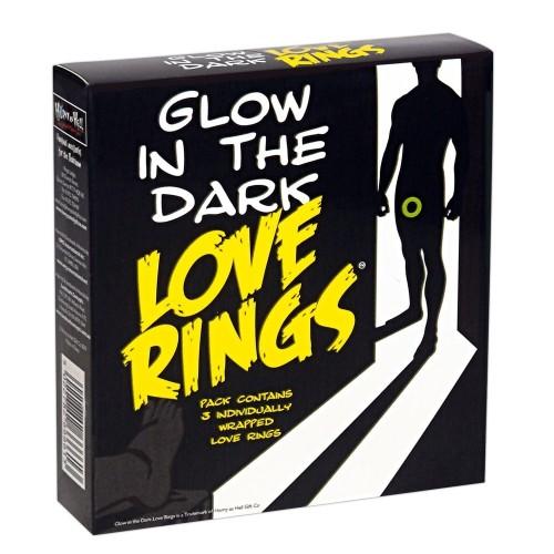 3 бр. светещи пенис пръстени Love Rings [3]